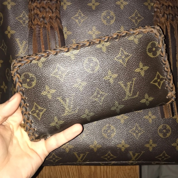 901f5652e4e Louis Vuitton Handbags - Custom Vintage Gypsy LV Wallet